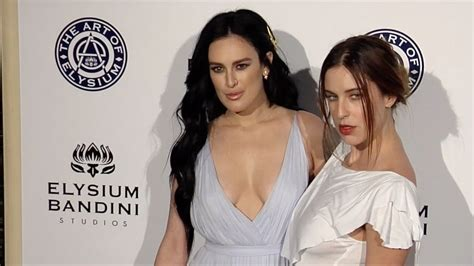 Rumer Willis and Scout LaRue Willis 2017 Heaven Gala - YouTube