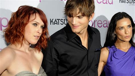 Rumer Willis on Ashton Kutcher Dating Demi Moore: 'It Was ...