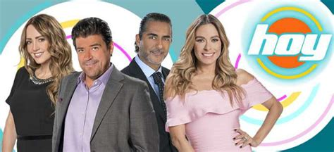 Rumores en México sobre el futuro del programa 'Hoy' en ...
