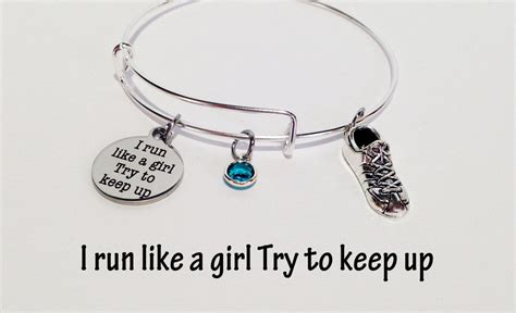 Runner Gift, Runner Bracelet, Runner Jewelry, Runner Girl ...