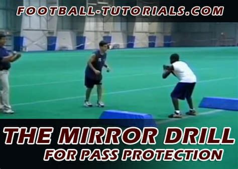 Running Back Pass Protection & The Mirror Drill
