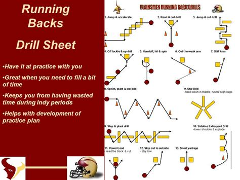 Running Back Skills & Drills   ppt video online download