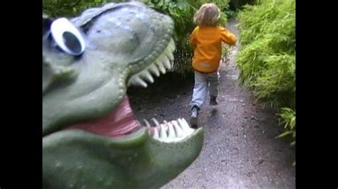 RUNNING FROM A T-REX - music video FOR KIDS - Dinosaur ...
