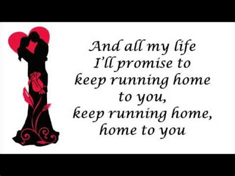 Running Home To You by Grant Gustin  Lyrics Video   YouTube