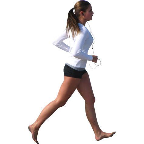 Running man PNG image, running woman PNG free download