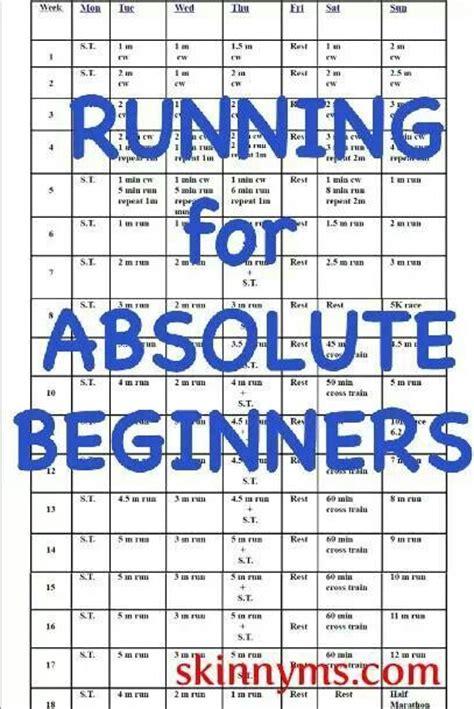 Running Program for Absolute Beginners | Marathons ...