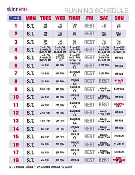 Running Program for Absolute Beginners | Running schedule ...
