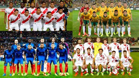 Rusia 2018: ¿en qué puestos del ránking FIFA se ubican los ...