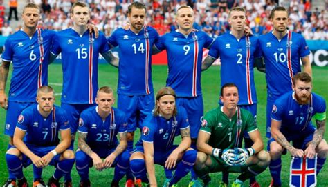 Rusia 2018: Islandia presenta su camiseta para el Mundial ...