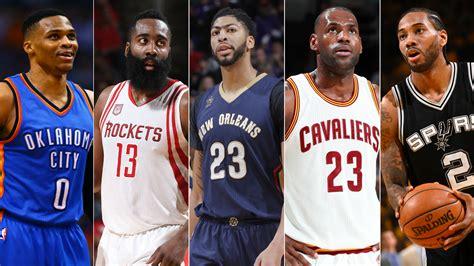 Russell Westbrook, James Harden, LeBron James lead 2016 17 ...