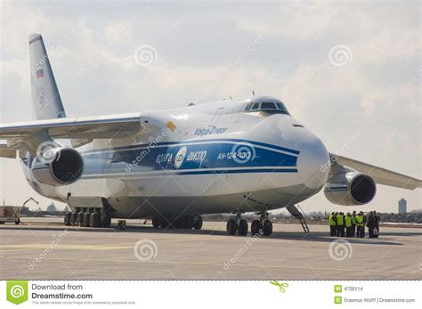 Russian Cargo Aircraft Editorial Stock Image   Image: 4700114