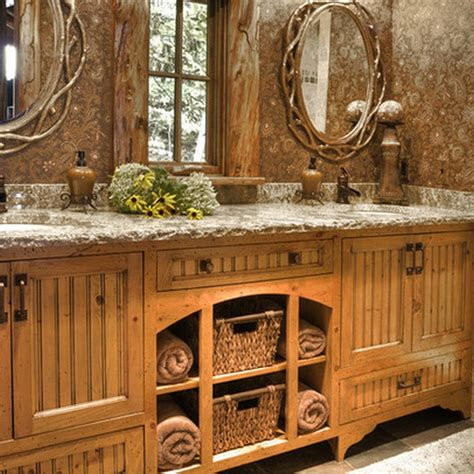 Rustic Bathroom Décor Ideas for a Country Style Interior ...