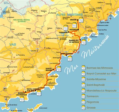 Ruta de la Mimosa de la Costa Azul - La Provenza y Costa ...