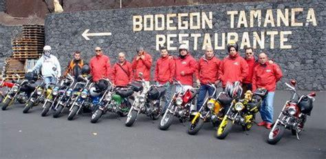 Ruta de marzo del Honda 70 Club Tenerife - Canariasenmoto.com
