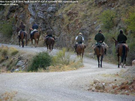 Ruta ecuestre Sierra Sur de Jaen y Frontera Nazari ...