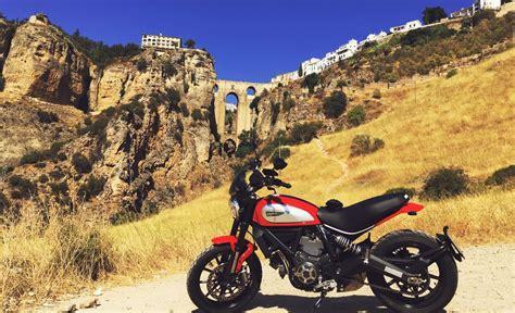 Ruta en moto por Málaga