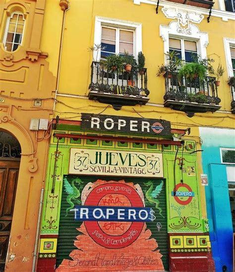 Ruta por las tiendas de segunda mano de Sevilla