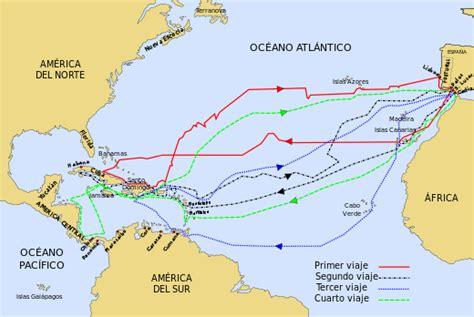 Rutas de cristobal colon mapa - Imagui