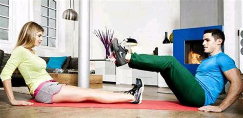 Rutina de ejercicios fitness en casa