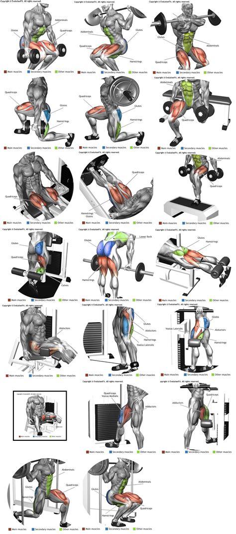 Rutina de pierna | Ejercicios | Pinterest | Entrenamiento ...
