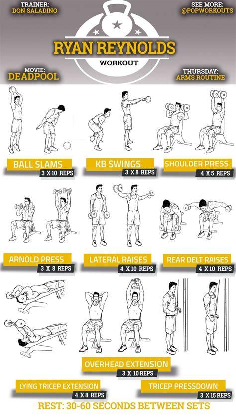 Rutina entrenamiento Brazos: Hombros & Triceps | Fitness ...