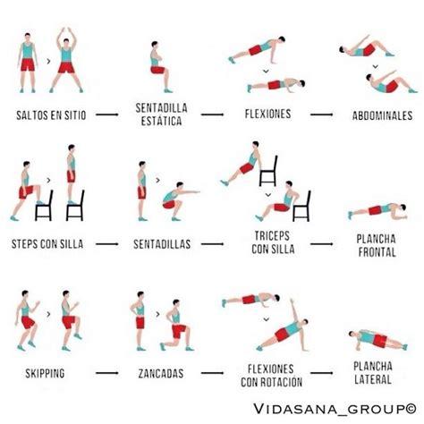 Rutina para quemar grasa y entrenar desde casa | gym ...