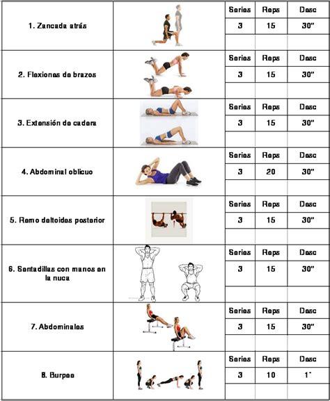 rutinas para gimnasio peso corporal | gimnasio | Pinterest ...