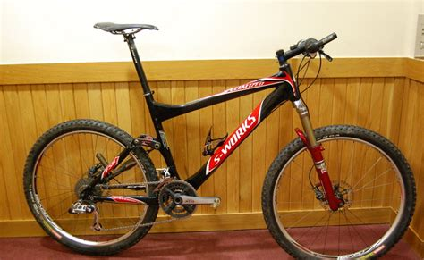 Ryan Sherlock's Blog: 2008 Specialized S-Works Epic Race Bike