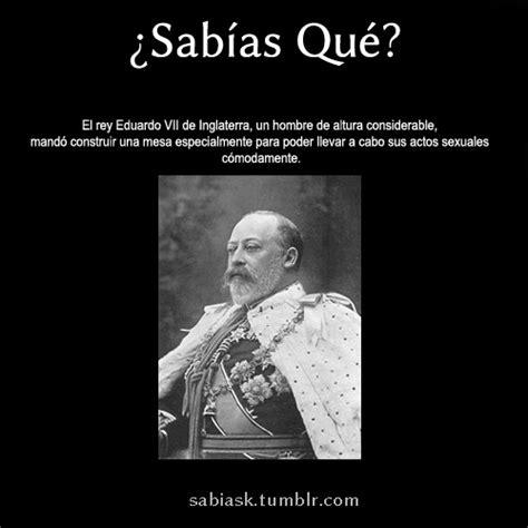 ¿Sabías qué ? — El rey Eduardo VII de inglaterra