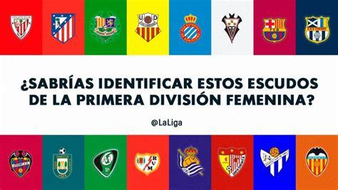 ¿Sabrías identificar estos escudos de la Primera División ...