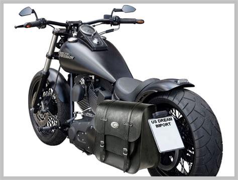Sacoche Solo Universelle Moto Custom Ledrie 30 Litres ...