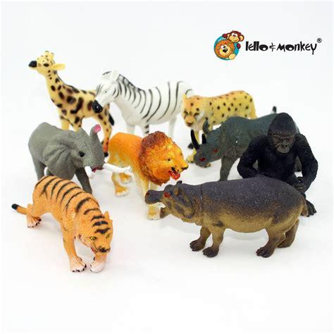 Safari Animal Figures boxed set of 9 – Lello and Monkey