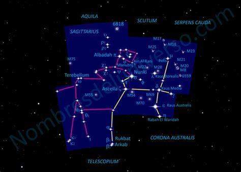 Sagittarius Dibujo auténtico | Nombres del Universo