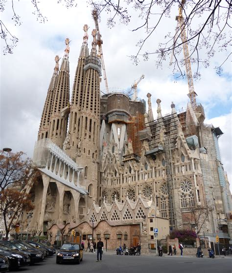 Sagrada Familia En Barcelona Card