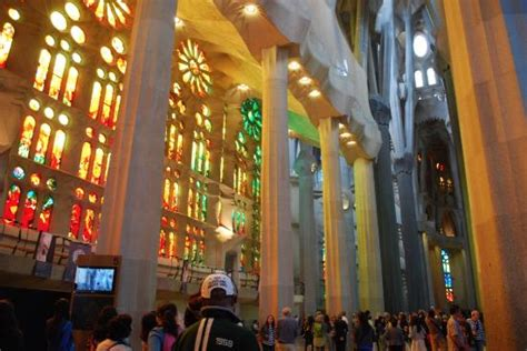 Sagrada Familia interior   Picture of Basilica of the ...