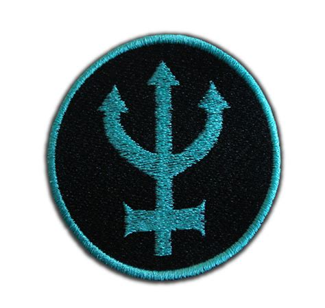 Sailor Neptune Symbol Patch by AffrayPatchworks on Etsy