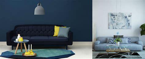 Salas de estar azules para 2016