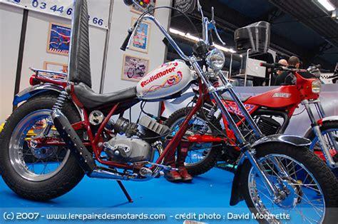Salon Moto Légende 2007 Fantic chopper 50 TX 33 - 1971