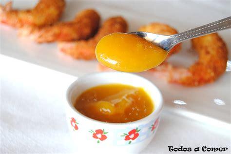 Salsa de mango para carnes y pescados - Todos a comer