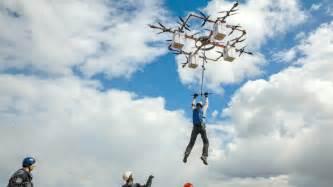 Salto desde un dron, el nuevo deporte extremo | Otros ...