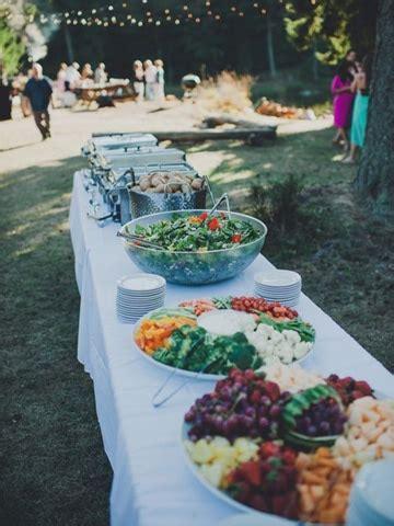 Saludables y unicas comidas para bodas sencillas | Centros ...