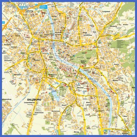 SALZBURG MAP   ToursMaps.com