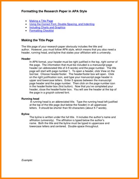 Sample Apa Essay Paper   Resume Template Easy   http://www ...