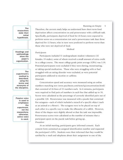 Sample APA Research Paper Free Download