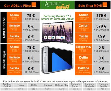Samsung Galaxy S7 y Galaxy S7 edge con Orange: precios con ...