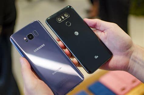 Samsung Galaxy S8 vs. LG G6 | Specs Comparison | Digital ...