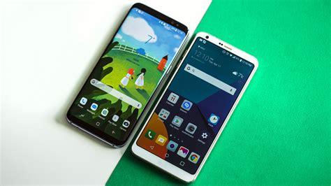 Samsung Galaxy S8 vs LG G6: un primo confronto  con video ...