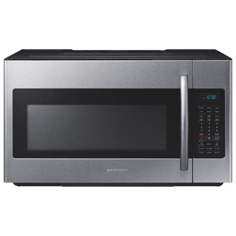 Samsung Over-The-Range Microwave - 1.8 Cu. Ft. - Stainless ...