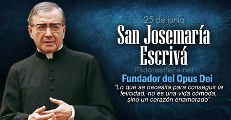 San Josemara Escriv de Balaguer. Fundador del Opus Dei
