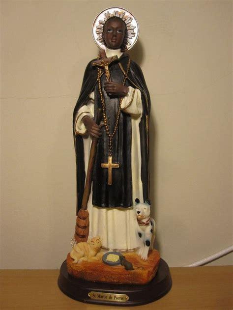 San Martin de Porres, de 30 cm / St Martin 12 inches Tall ...
